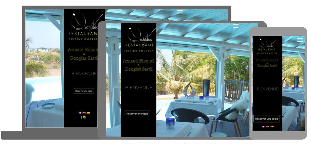 Restaurant l'Orchidea - Arnaud Bloquel
