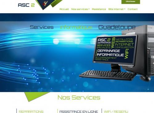 Asc2 Service informatique Sainte-Anne Guadeloupe