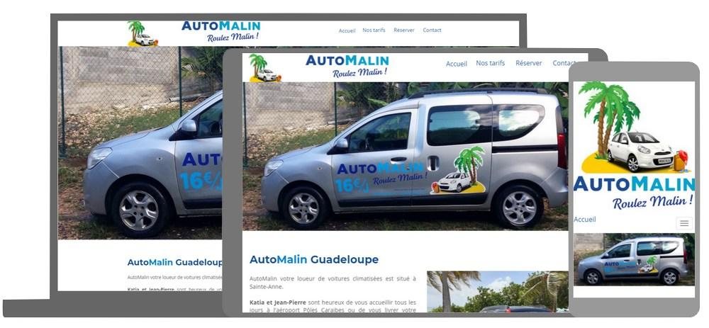 Automalin location voiture Guadeloupe
