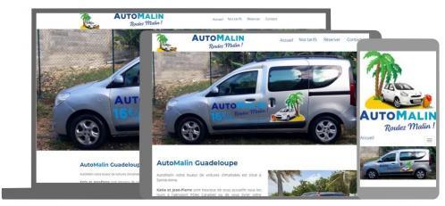 AutoMalin Loueur de voiture Guadeloupe