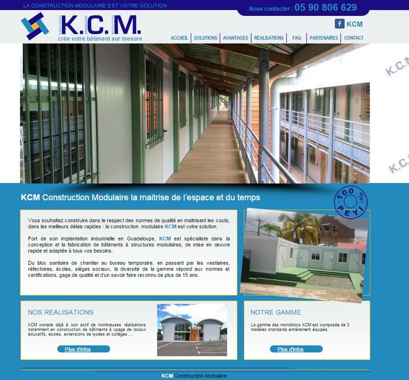 Realisation du site pour KCM