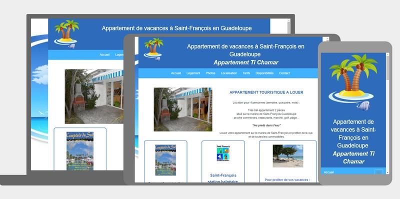 Loca vacances appartement touristique Guadeloupe
