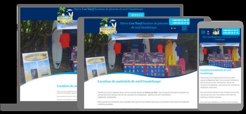 Pierre loc surf  Location de matériels de surf Guadeloupe
