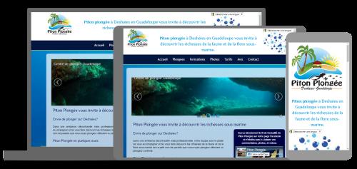 Piton plongee club de plongée Guadeloupe